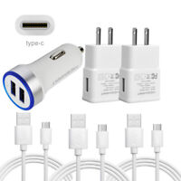 For ZTE Blade Z/X Max 3/XL SPARK Zmax Pro Z981 Fast Phone Wall Plug Car Charger