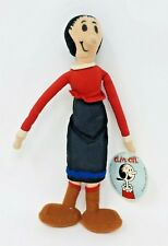 """Olive Oyl Character Popeye Play-by-Play Stuffed 10"""" Toy Plush Doll With Tag"""