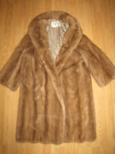 Vintage 60's Kent Fisher Full Length Blonde Mink Coat - S->M EUC