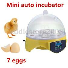 7 Eggs Digital Hatcher Incubator Brooder Automatic Temperature Turning Control