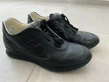 Chaussures Hogan Homme Cuir Noir 44,5 Super Etat