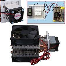 12V 72W Refrigeración Sistema Termoeléctrico Peltier Kit Ventilador Cooler DIY