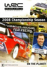 WRC FIA 2008 WORLD RALLY CHAMPIONSHIP DVD + COLIN MCRAE DVD BRAND NEW SEALED SET