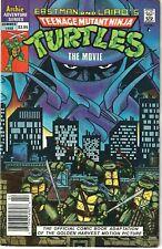 Teenage Mutant Ninja Turtles The Movie F/VF (Archie 1990) Canadian Price Variant
