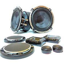 CT Sounds Meso Series 5.25 Inch Full Range Car Audio 2 Way Component Speaker Set