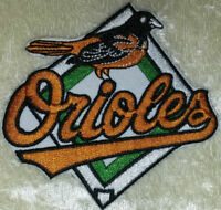 """Baltimore Orioles Base 3.25"""" Iron /Sew On Embroidered Patch~FREE SHIP!~"""