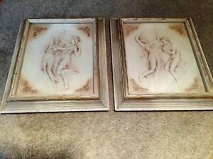 TURNER WALL ACCESSORY PICTURES (2) 1370 D341 Classical Dancer
