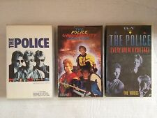 LOT K7 VIDEO VHS SPECIAL THE POLICE