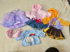 # 2 Build a Bear Workshop clothes, some tagged, good used condition