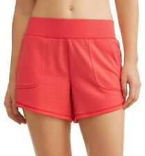 Athletic Works Women's French Terry Gym Shorts Size Small (4-6) Begonia Pink
