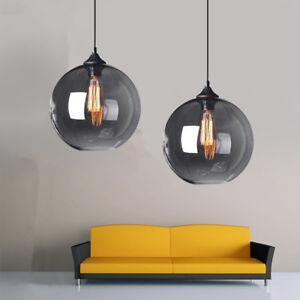 Kitchen Pendant Light Grey Glass Pendant Lights Home Ceiling Light Modern Lamp