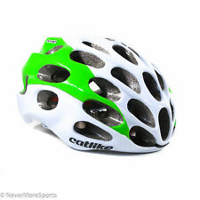 Catlike Mixino Road Bike Helmet Small 52-54cm White/Green 2150032SMSV