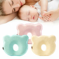New Baby Latex Pillow Space Memory Foam Catton Infant Cushion Prevent Flat Head