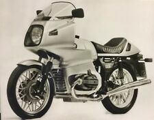 Rare Dossier De Presse 1976 BMW MOTOS R 100 RS R 75!!!