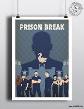 PRISON BREAK - Minimalist TV Poster Wall Art Posteritty Wentworth Miller