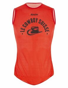 UCI Collection Cowboy 1951 Cycling Base Layer - Made in Italy - by Santini
