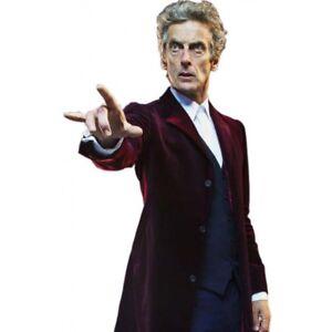Peter Capaldi Doctor Who Twelfth Doctor Maroon Velvet Coat Jacket