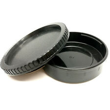 Rear Lens Cap + Front Body Cover Dust Protector For Pentax 6x7 PK67 Camera DSLR