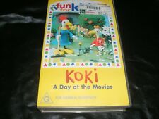 ABC FUN FOR KIDS KOKI A DAY AT THE MOVIES~ VHS PAL VIDEO~
