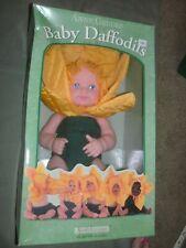 """Nib 1999 Anne Geddes Baby Daffodils #526571 12"""" By Unimax Toys Incorporated"""