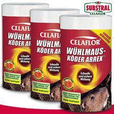 Substral Celaflor 3 x 250 g Wühlmausköder ARREX