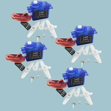 4pcs rc Servo Mini micro 9g for Rc Helicopter Airplane Foamy Plane Car Boat F