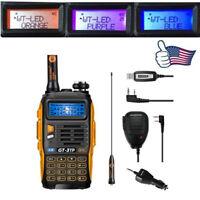 Baofeng GT-3TP MarkIII Two-way Radio + Speaker + Cable V/UHF 8W Walkie Talkie