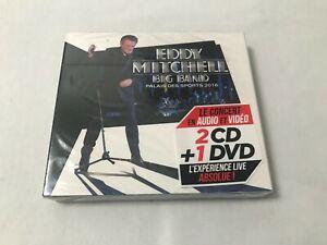 RARE Edition Limitée 2CD + DVD EDDY MITCHELL PALAIS DES SPORTS 2016 (NEUF)