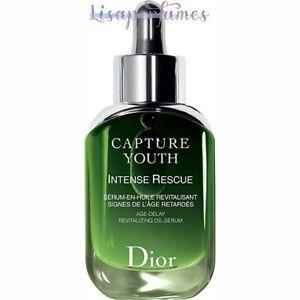 Christian Dior Capture Youth Intense Rescue Age-Delay Revitalizing Oil-Serum 1oz