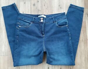 Ladies Next Waist Enhancer skinny jeans UK size 16 R Waist 34 leg 29