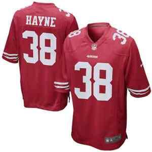 💯%GENUINE NFL Jarryd Hayne San Francisco 49ers Nike Game Jersey - Scarlet Small