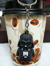 New Cute Star Wars Stormtrooper Darth Vader PVC Figure Key chain Pendant KeyRing