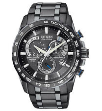 Brand New Citizen Eco-Drive Perpetual Chronograph Watch AT4007-54E