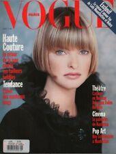 Vogue Paris September 1993 Linda Evangelista MIchel Petty 062019DBE