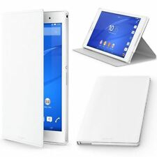 GENUINE SONY XPERIA Z3 TABLET COMPACT SCR28 FLIP CASE STYLE COVER STAND - WHITE