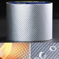 Waterproof Self- Tape Aluminum Butyl Foil Heat Shield for Pipe Repairing Magic