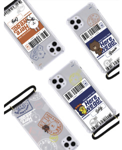 LINEFRIENDS HAVE A NICE TRIP Hand Free Case Brown&Friends Official Product