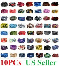 10x Face Mask Sun Shield Gaiter Bike mask Balaclava Neckerchief Bandana Headband