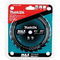 Makita 6-1/2 in. Dia. Max Efficiency Circular Saw Blade Carbide Tipped B-62963