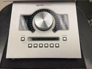 Universal Audio Apollo Twin Duo Thunderbolt Audio Interface Used
