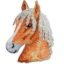 """Horse Applique Patch - Equestrian, Western Badge 2.25"""" (Iron on)"""
