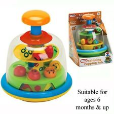 Baby Toddler Activity Toy Spinning Popping Pals 6 Months +