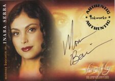 Firefly TV Series Morena Baccarin as Inara Serra A3 Auto Autograph Card