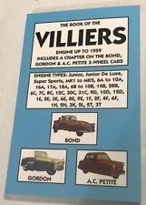 VILLIERS junior sports MK1-MK5 6A-10A 16A 17A 18A 6B-10B 14B + ENGINE MANUAL >59