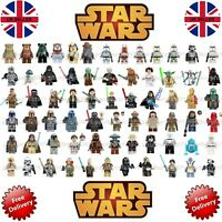 STAR WARS CUSTOM LEGO MINI FIGURES Mandalorian DC Harry Potter minifigures
