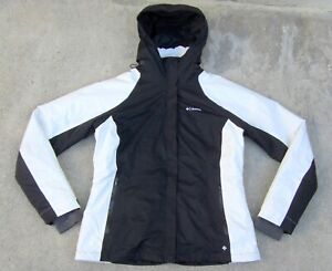 Columbia OMNI TECH waterproof Snowboard Ski Jacket w Puffer Liner Women's XL
