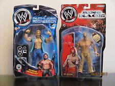NEW WWE FIGURE LOT Rey Mysterio ring rage  Chris Jericho ruthless Jakks Pacific