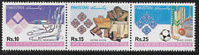 PAKISTAN 1992 INDUSTRIES Medical Leather Sports Cricket Hockey Strip of 3 MNH