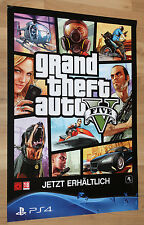 GTA 5 Grand Theft Auto V double sided Poster 60x42cm Xbox One 360 PS3 PS4