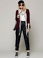 Free People Marnie Leather Pant Black Size M